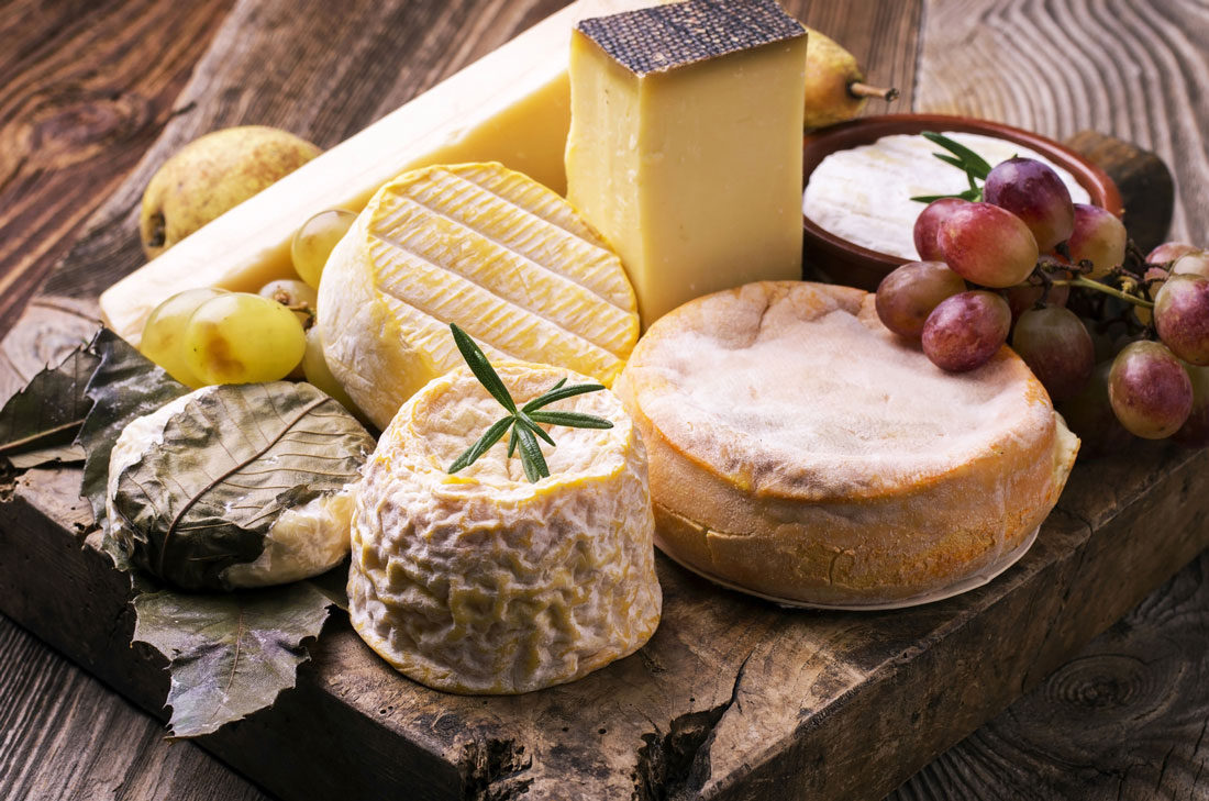 A nice furnished cheese platter? Ask for advice!